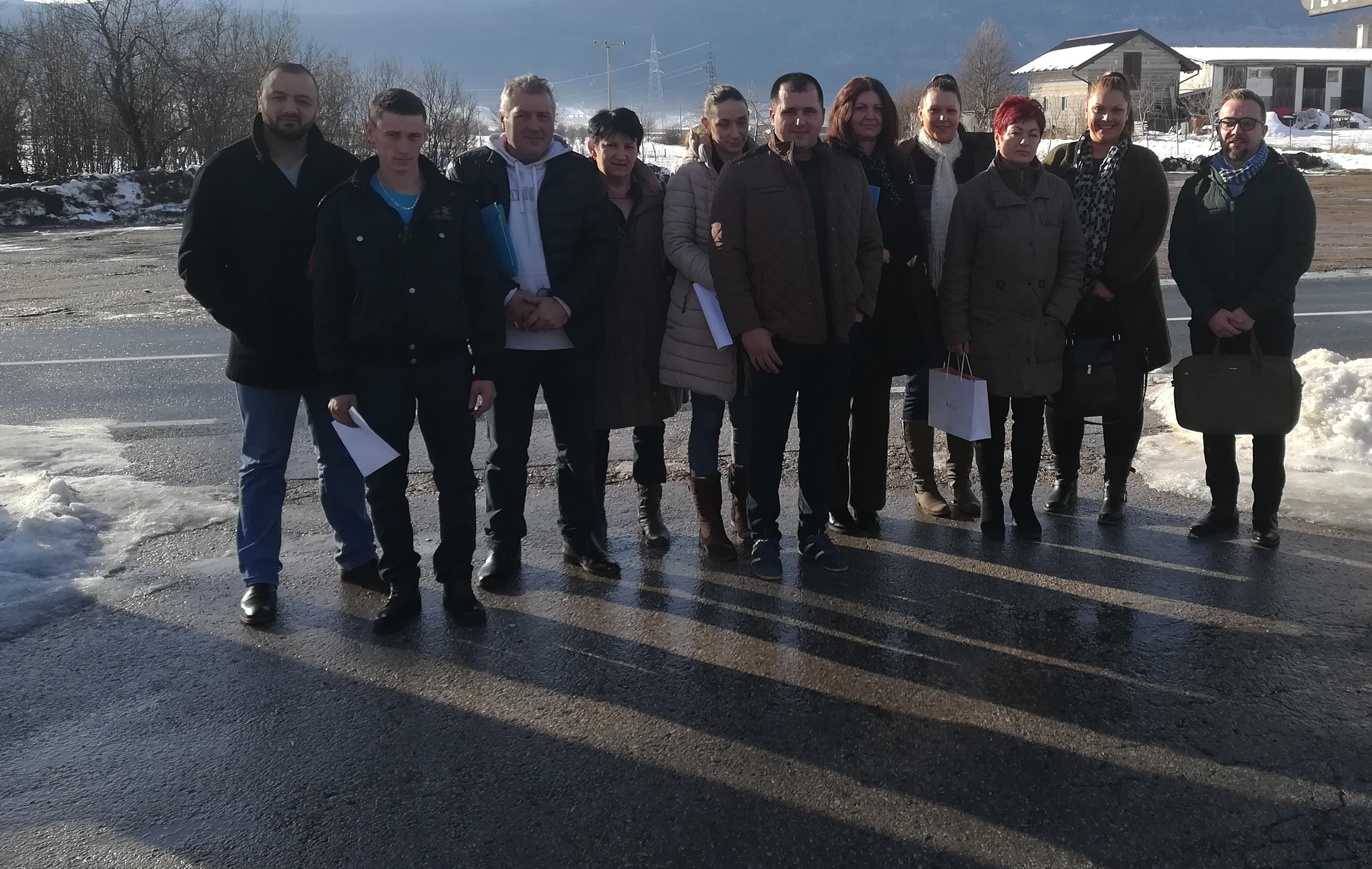 Rekonstrukcija puteva u Bosanskoj Krupi, zapošljavanje mladih u Bosanskom Petrovcu
