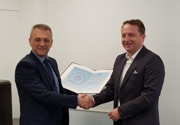 Predsjednik Privredne komore USK u radnoj posjeti Vanjskotrgovinskoj / Spoljnotrgovinskoj komori BiH