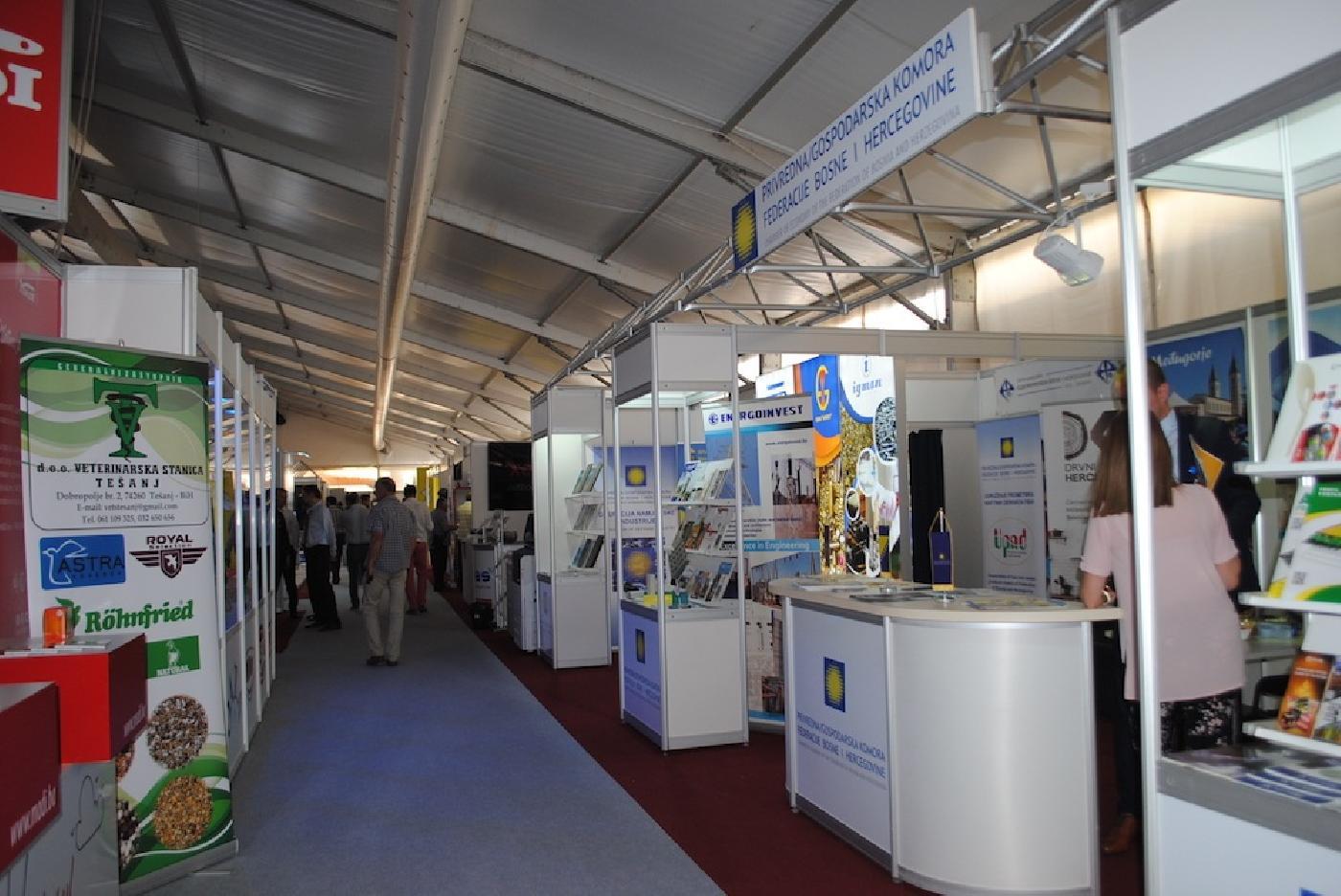 Privredna komora USK na 15. međunarodnom sajmu privrede Tešanj 2019