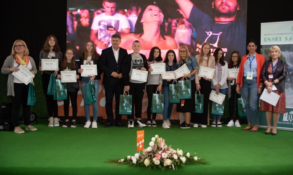 """Održano finalno takmičenje eko kviza """"Una i ekologija – EKOBIS 2019"""