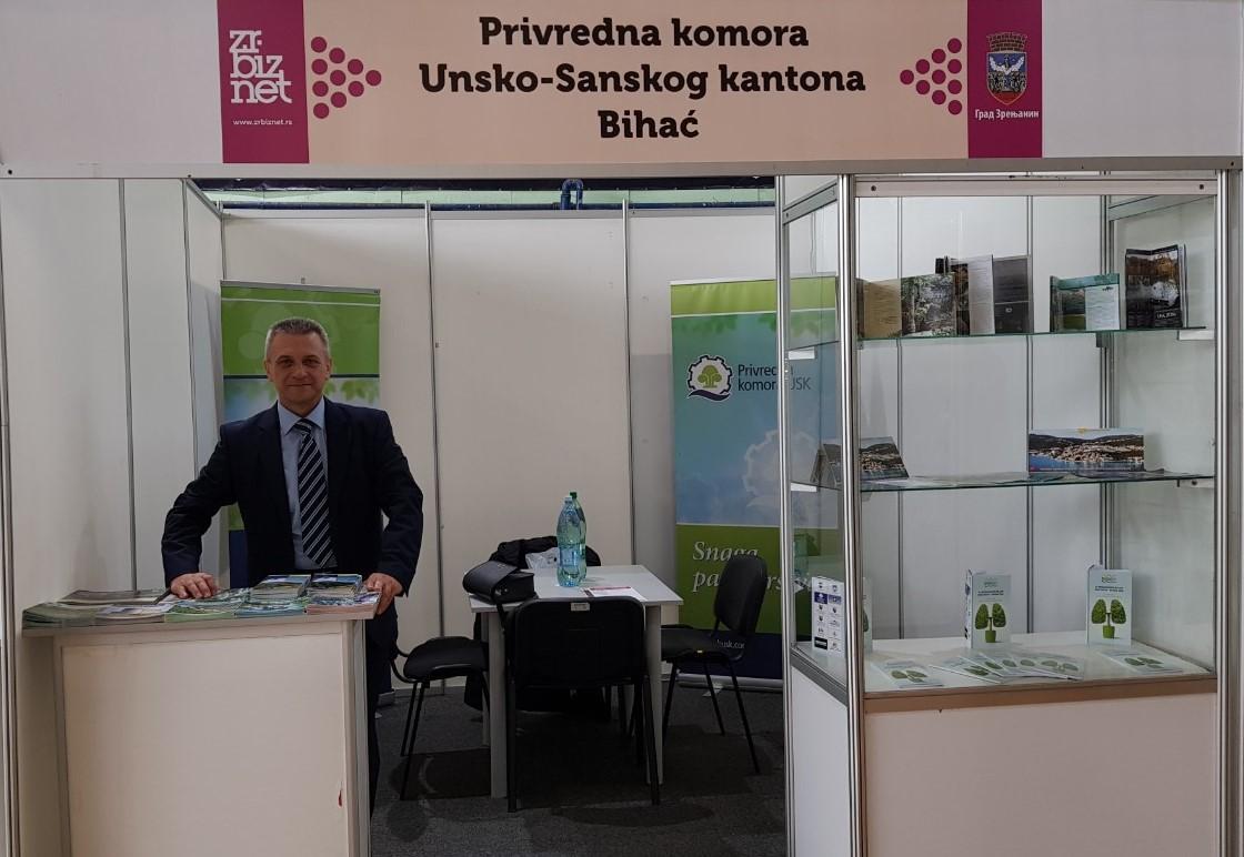 Privredna komora USK sa članicama na 3. međunarodnom privrednom sajmu ZrBizNet