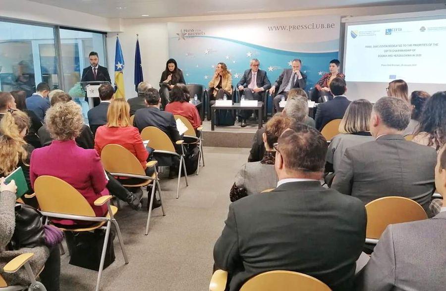 Predsjedavanje CEFTA Sporazumom i strukturama - Poslovna zajednica BiH traži ubrzanje svih procesa